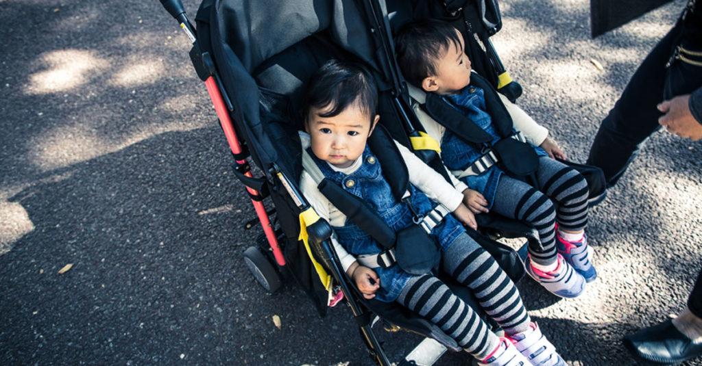 Zwillingskinderwagen