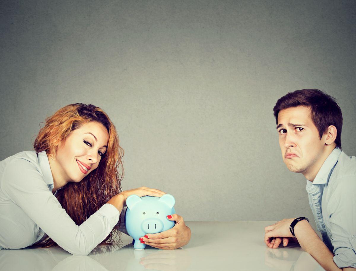 Eltern streiten um Geld