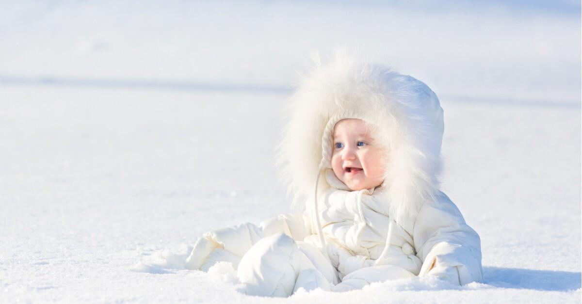 Baby Winter Sonnenschutz