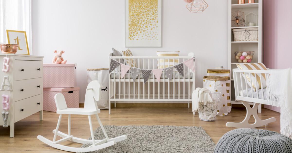 Zimmer Baby weiß