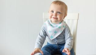Welches Lätzchen ist das richtige für mein Baby?