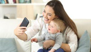Kinder in sozialen Medien