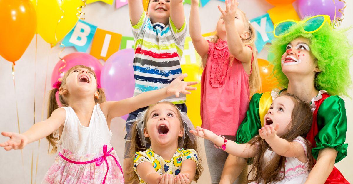Kinder Geburtstag feiern
