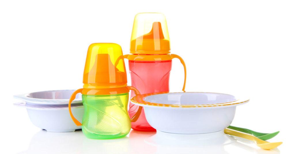 Geschirr für Babys Beikost