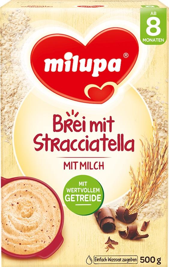 Ab 8 Monaten Milupa Brei mit Stracciatella