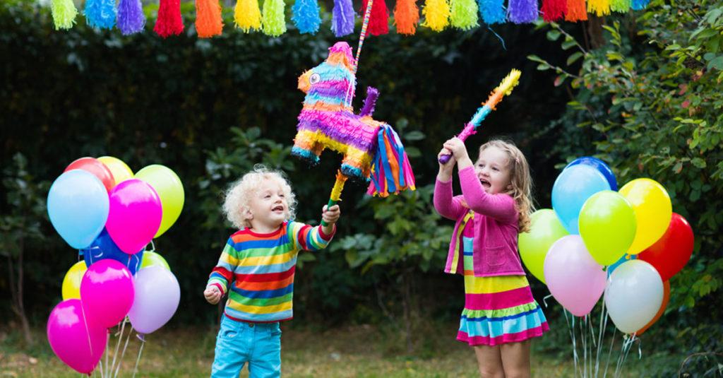 Sportliche Geburtstagsparty für Kleinkinder
