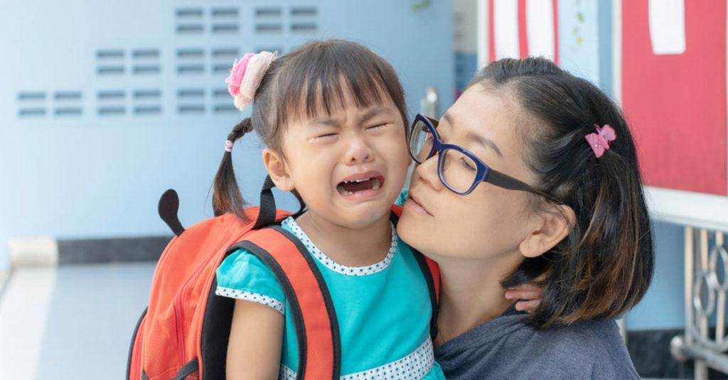 Trennungsschmerz nach der Volksschule