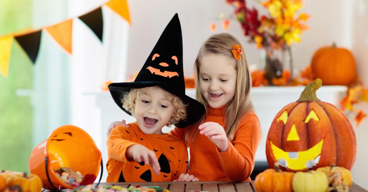 Spannende Spiele für eine Halloweenparty