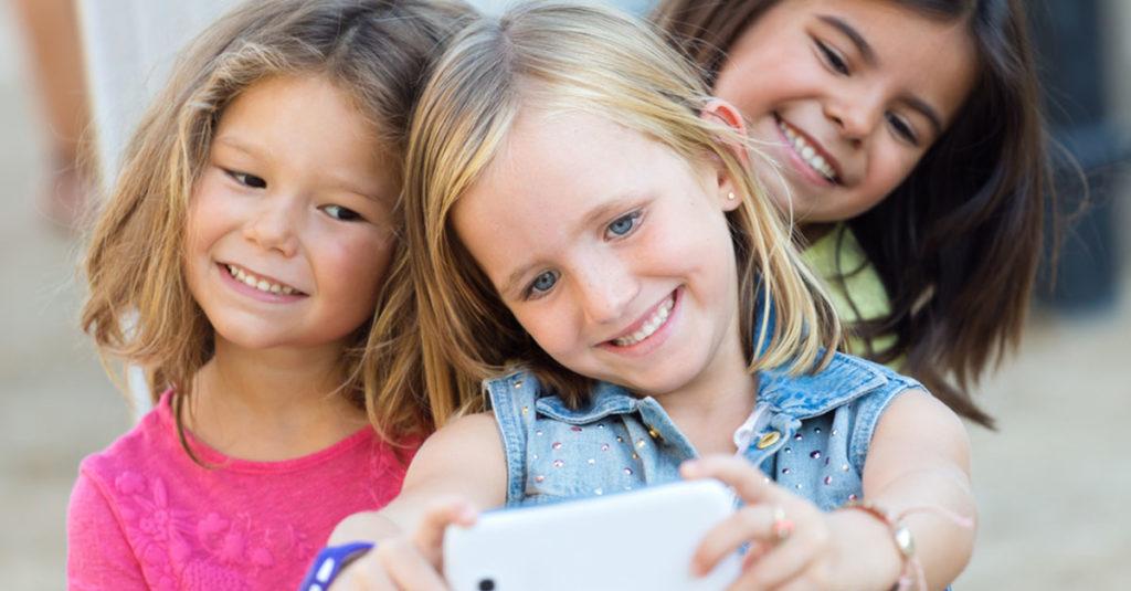 Kinder in sozialen Medien (Social Media)