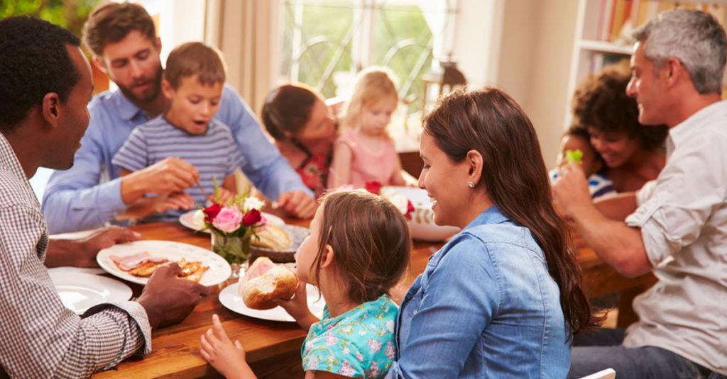 Gesunde Ernährung für die ganze Familie