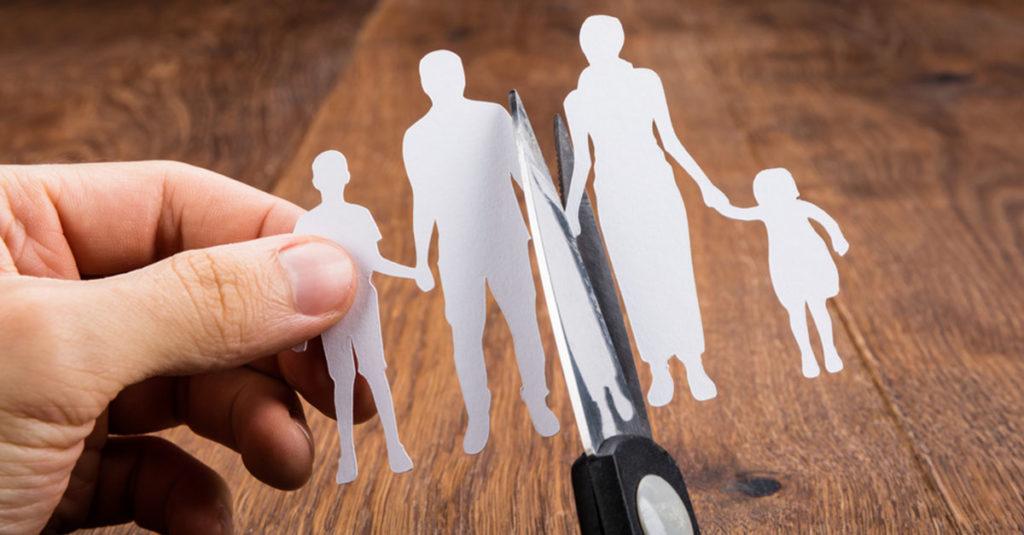 Scheidung der Eltern