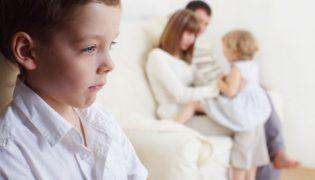 Eifersucht auf neugeborene Geschwister
