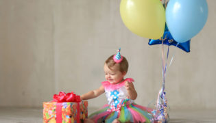 12. Monat: Happy birthday, baby!