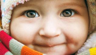 Augenfarbe bei Babys