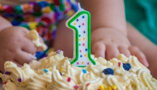 Der erste Geburtstag unseres Babys