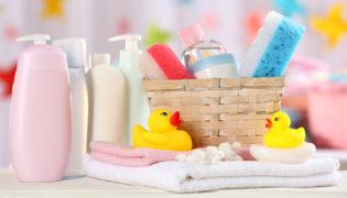 Checkliste Erstausstattung Körperpflege beim Baby