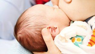 Saugreflex beim Baby