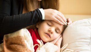 Häufig auftretende Kinderkrankheiten