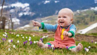 Babyurlaub in Österreich