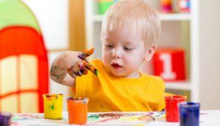 Kinderkrippe finden und auswählen