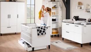 Zeitlose Klarheit vom Baby- bis zum Kinderzimmer: Eliana von PAIDI