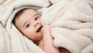 Hitzepickel beim Baby