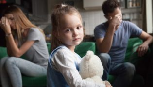 Trennung und Scheidung – wie erklärt man dies einem Kind?