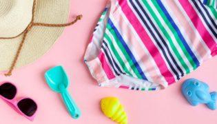 Babykleidung im Sommer