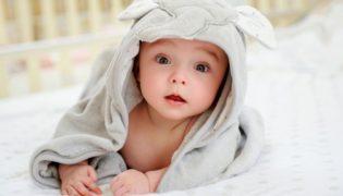 Pflege für kleine Jungen